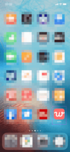 withのアプリがスマホにインストール完了