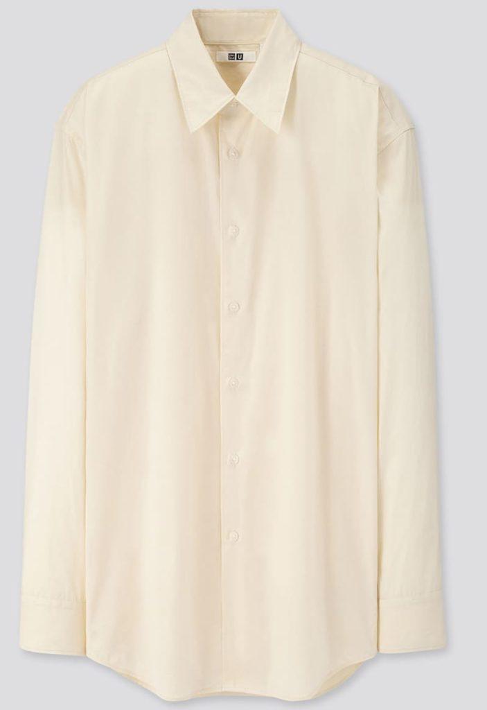 秋のアウターはユニクロのブロードシャツがオススメ