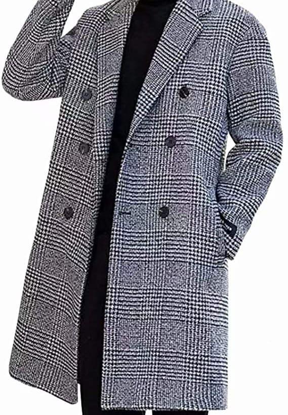 コートは千鳥格子の柄がオススメ