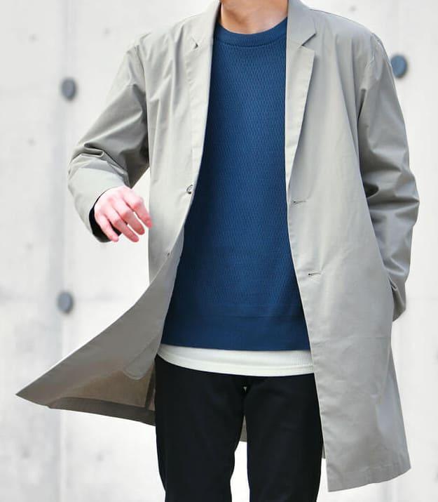 男性用スプリングコート