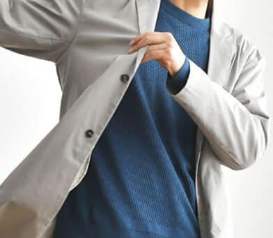 春服の男性スプリングコート