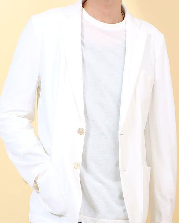 春服の男性ジャケット