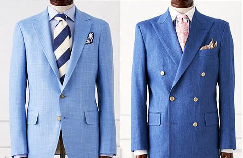 スーツのオススメの色はライトネイビー