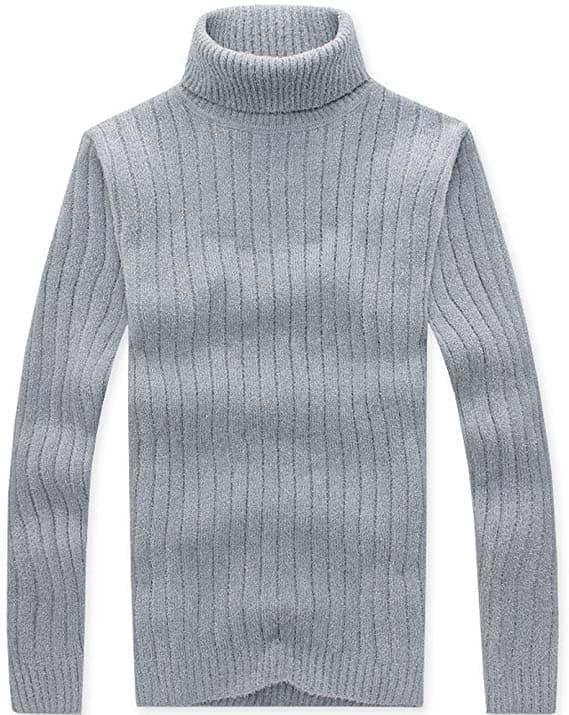 冬のインナーはタートルネックセーター