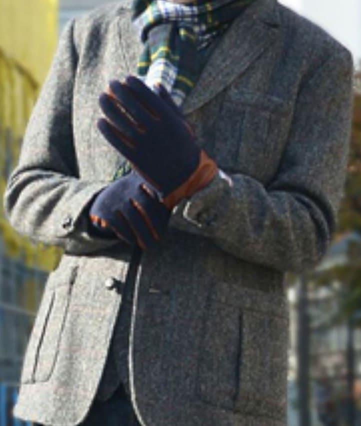 冬服オススメのツイード製ジャケット