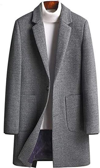 冬服オススメのウール製チェスターコート
