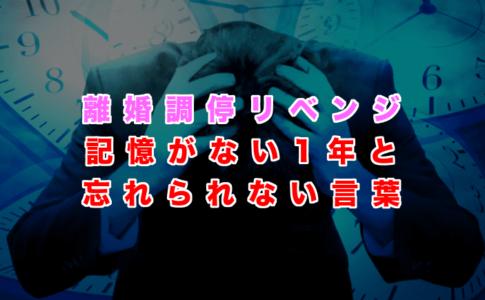 【野原すすむの過去④】離婚調停リベンジ(記憶がない1年と妻の親から言われた忘れられない言葉)の記事アイキャッチ